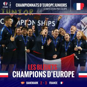 (Miniature) Euro Juniors : champions d'Europe...encore !