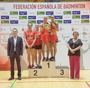 (Miniature) Spanish International : Anne Tran et Emilie Lefel en finale