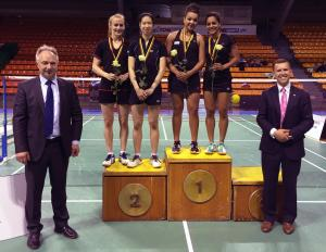 (Miniature) Yonex Lituanie International : Teshana VIGNES-WARAN  fait coup double !