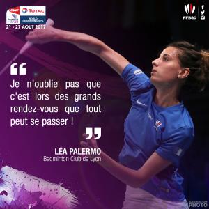 (Miniature) Glasgow 2017 : Interview de Léa Palermo