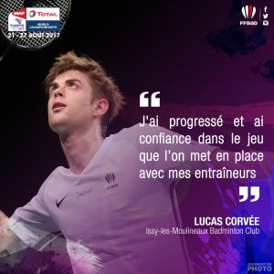 (Miniature) Glasgow 2017 : interview de Lucas Corvée