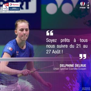 (Miniature) Glasgow 2017 : interview de Delphine Delrue
