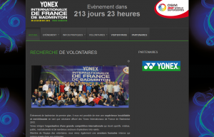(Miniature) Yonex Internationaux de France de Badminton : Devenez volontaires !