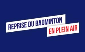 (Miniature) Reprise du badminton en plein air