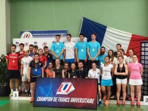 (Miniature) France Universitaire : les champions 2018