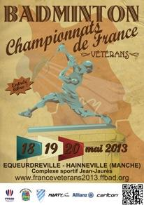 (Miniature) Championnat de France Vétérans 2013 : Record d'inscriptions battu