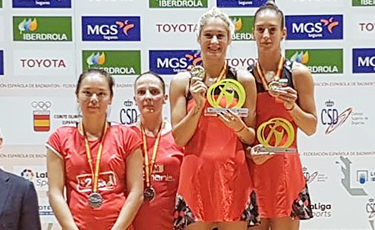 Spanish International : Anne Tran et Emilie Lefel en finale